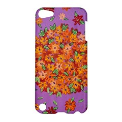 Floral Sphere Apple Ipod Touch 5 Hardshell Case by dawnsiegler