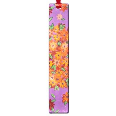 Floral Sphere Large Book Marks by dawnsiegler