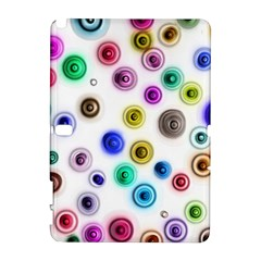 Colorful concentric circles        HTC Desire 601 Hardshell Case by LalyLauraFLM