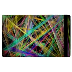 Colorful laser lights       Kindle Fire (1st Gen) Flip Case by LalyLauraFLM