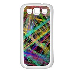 Colorful Laser Lights       Samsung Galaxy S7710 Xcover 2 Hardshell Case by LalyLauraFLM