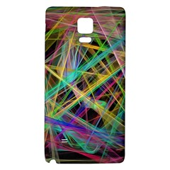 Colorful Laser Lights       Samsung Galaxy Note Edge Hardshell Case by LalyLauraFLM