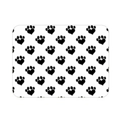 Puppy Love Black Double Sided Flano Blanket (mini)