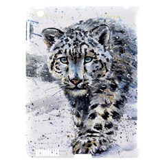 Snow Leopard 1 Apple Ipad 3/4 Hardshell Case (compatible With Smart Cover) by kostart