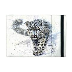 Snow Leopard 1 Apple Ipad Mini Flip Case by kostart