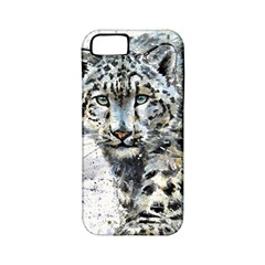 Snow Leopard 1 Apple Iphone 5 Classic Hardshell Case (pc+silicone) by kostart