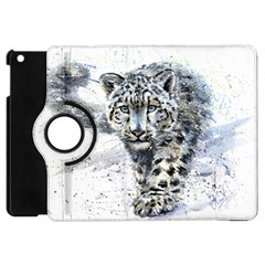 Snow Leopard 1 Apple Ipad Mini Flip 360 Case by kostart
