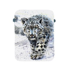 Snow Leopard 1 Apple Ipad 2/3/4 Protective Soft Cases by kostart