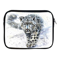 Snow Leopard 1 Apple Ipad 2/3/4 Zipper Cases by kostart