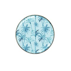 Watercolor Palms Pattern  Hat Clip Ball Marker (4 Pack) by TastefulDesigns