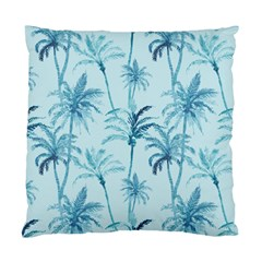 Watercolor Palms Pattern  Standard Cushion Case (two Sides) by TastefulDesigns