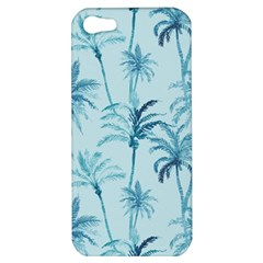 Watercolor Palms Pattern  Apple Iphone 5 Hardshell Case by TastefulDesigns