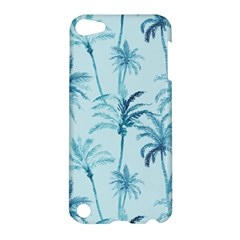 Watercolor Palms Pattern  Apple Ipod Touch 5 Hardshell Case by TastefulDesigns