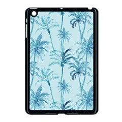 Watercolor Palms Pattern  Apple Ipad Mini Case (black) by TastefulDesigns