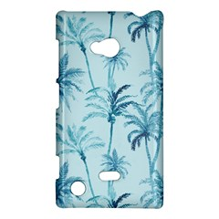 Watercolor Palms Pattern  Nokia Lumia 720 by TastefulDesigns