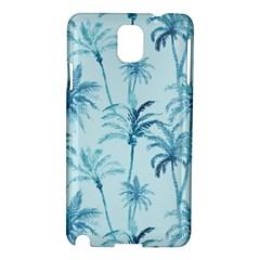 Watercolor Palms Pattern  Samsung Galaxy Note 3 N9005 Hardshell Case by TastefulDesigns