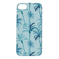 Watercolor Palms Pattern  Apple Iphone 5s/ Se Hardshell Case by TastefulDesigns