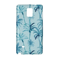 Watercolor Palms Pattern  Samsung Galaxy Note 4 Hardshell Case by TastefulDesigns