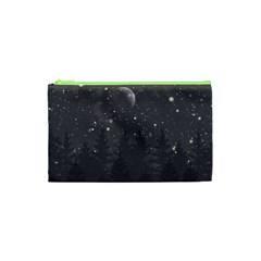 Night Full Star Cosmetic Bag (xs) by berwies