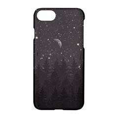Night Full Star Apple Iphone 7 Hardshell Case by berwies