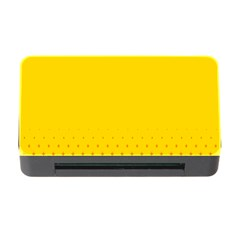 Yellow Star Light Space Memory Card Reader With Cf by Mariart