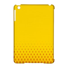 Yellow Star Light Space Apple Ipad Mini Hardshell Case (compatible With Smart Cover) by Mariart