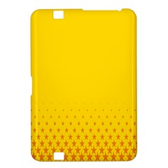 Yellow Star Light Space Kindle Fire Hd 8 9  by Mariart