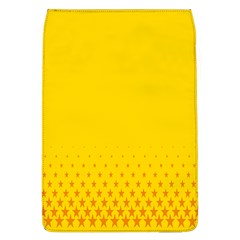 Yellow Star Light Space Flap Covers (l)  by Mariart