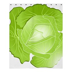 Cabbage Leaf Vegetable Green Shower Curtain 60  X 72  (medium)  by Mariart
