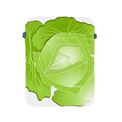 Cabbage Leaf Vegetable Green Apple Ipad 2/3/4 Protective Soft Cases by Mariart