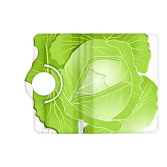 Cabbage Leaf Vegetable Green Kindle Fire Hd (2013) Flip 360 Case by Mariart