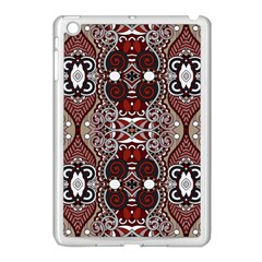 Batik Fabric Apple Ipad Mini Case (white) by Mariart