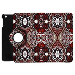 Batik Fabric Apple Ipad Mini Flip 360 Case by Mariart