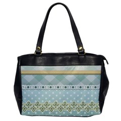 Circle Polka Plaid Triangle Gold Blue Flower Floral Star Office Handbags by Mariart