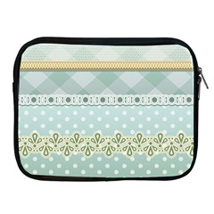 Circle Polka Plaid Triangle Gold Blue Flower Floral Star Apple Ipad 2/3/4 Zipper Cases by Mariart