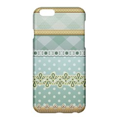 Circle Polka Plaid Triangle Gold Blue Flower Floral Star Apple Iphone 6 Plus/6s Plus Hardshell Case by Mariart