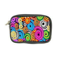 Circle Round Hole Rainbow Coin Purse by Mariart