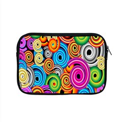 Circle Round Hole Rainbow Apple Macbook Pro 15  Zipper Case by Mariart