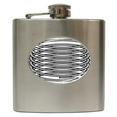 Circular Iron Hip Flask (6 Oz) by Mariart
