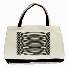 Circular Iron Basic Tote Bag by Mariart