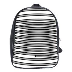 Circular Iron School Bags (xl)  by Mariart