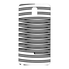 Circular Iron Samsung Galaxy Note 3 N9005 Hardshell Back Case by Mariart