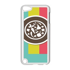 Dinerplate Tablemaner Food Fok Knife Apple Ipod Touch 5 Case (white) by Mariart