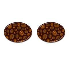 Coffee Beans Cufflinks (oval) by Mariart
