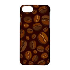 Coffee Beans Apple Iphone 7 Hardshell Case by Mariart