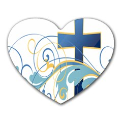 Easter Clip Art Free Religious Heart Mousepads by Mariart