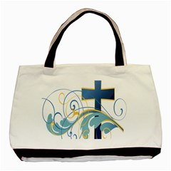 Easter Clip Art Free Religious Basic Tote Bag (two Sides) by Mariart
