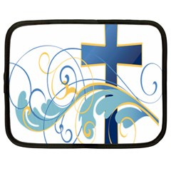 Easter Clip Art Free Religious Netbook Case (xl)