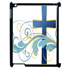 Easter Clip Art Free Religious Apple Ipad 2 Case (black) by Mariart
