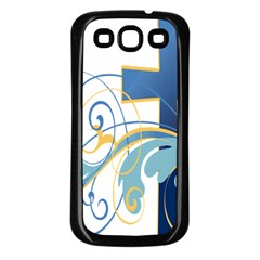 Easter Clip Art Free Religious Samsung Galaxy S3 Back Case (black) by Mariart